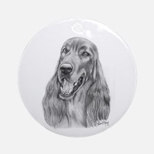 Irish Setter Ornament (Round)