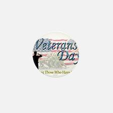 Cute Veterans Mini Button