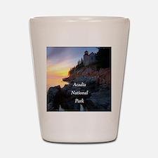 Acadia National Park Shot Glass