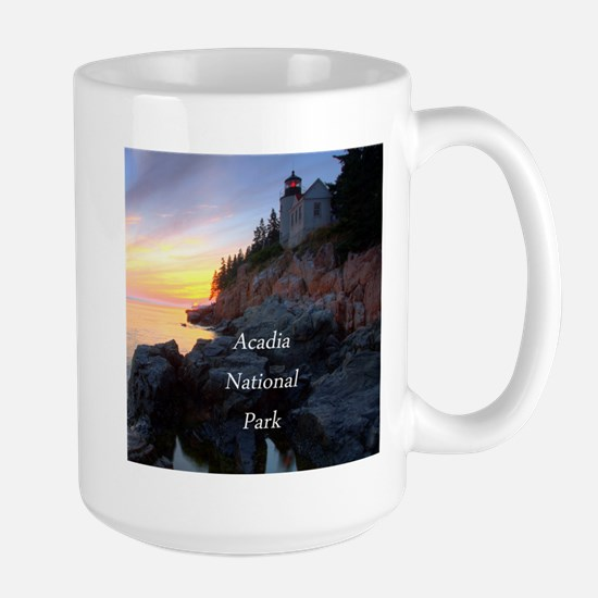 Acadia National Park Large Mug