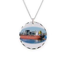 Salt water ship Emile gets a tug assist Necklace
