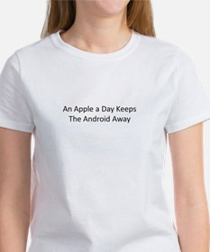An Apple a Day Keeps the Android Away Tee