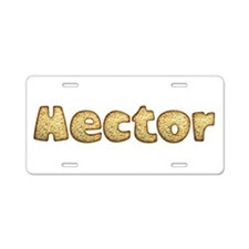 Hector Toasted Aluminum License Plate