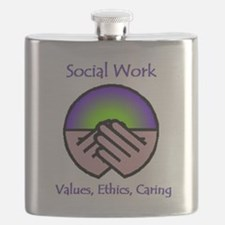 Social Work Values Flask