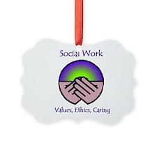 Social Work Values Ornament