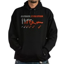 Alcohol evolution Hoodie