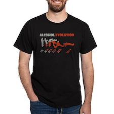Alcohol evolution T-Shirt