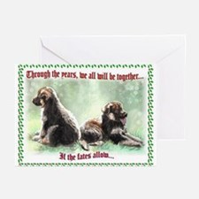 German Shepherd Pup Christmas Cards (Pk of 10)