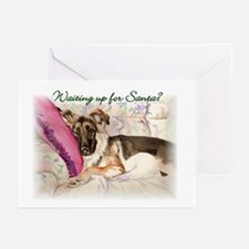 """GSD """"Waiting Up"""" Christmas Cards (Pk of 10)"""