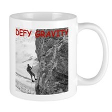 Retro Rock Climbing Coffee Mug