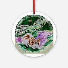 """Papillon """"Butterfly Garden 3"""" Ornament (Round)"""