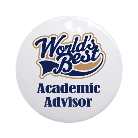 Advertising Advisor (Worlds Best) Ornament (Round)