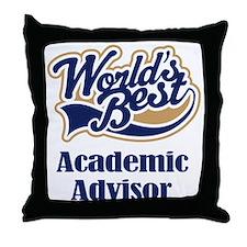 Advertising Advisor (Worlds Best) Throw Pillow