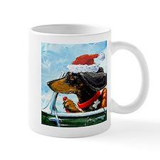 Holiday Dachshund Mug