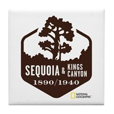 Sequoia & Kings Canyon Tile Coaster