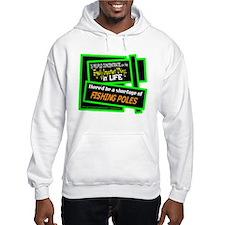 Fishing Poles-Doug Larson/t-shirt Hoodie