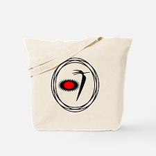 Native American RoadRunner design Tote Bag