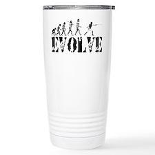 Unique Fencing evolution Travel Mug