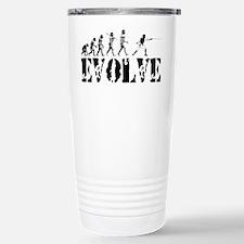 Cute Fencing evolution Travel Mug