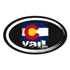 Vail Grunge Flag Decal
