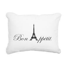 Bon Appetit Rectangular Canvas Pillow