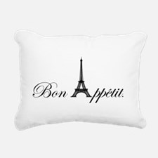 Bon Appetit Rectangular Canvas Pillow
