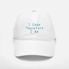 I Code Baseball Baseball Cap