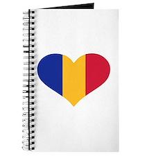 Moldova flag heart Journal
