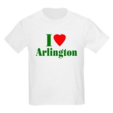 I Love Arlington Kids T-Shirt