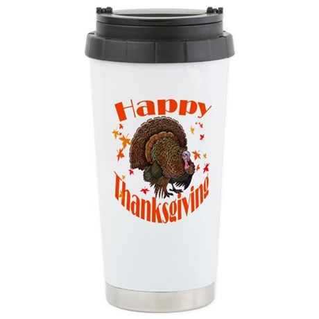 happy tg.png Stainless Steel Travel Mug