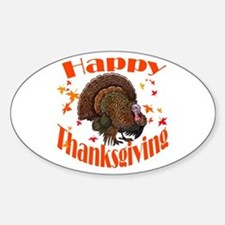 happy tg.png Sticker (Oval)