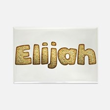 Elijah Toasted Rectangle Magnet