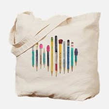 Old Favorite Pencils Tote Bag