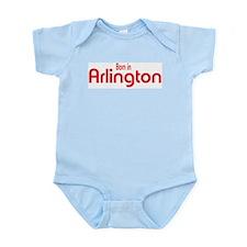 Born in Arlington Infant Creeper