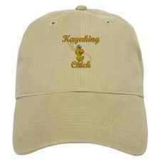Kayaking Chick #2 Baseball Cap