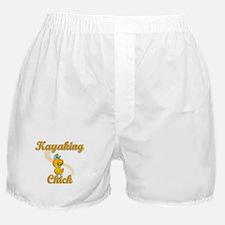 Kayaking Chick #2 Boxer Shorts