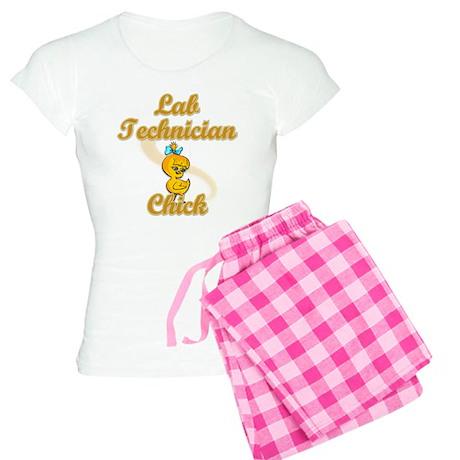 Lab Technician Chick #2 Women's Light Pajamas