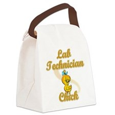 Lab Technician Chick #2 Canvas Lunch Bag