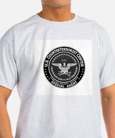 CTC CounterTerrorist Center Ash Grey T-Shirt
