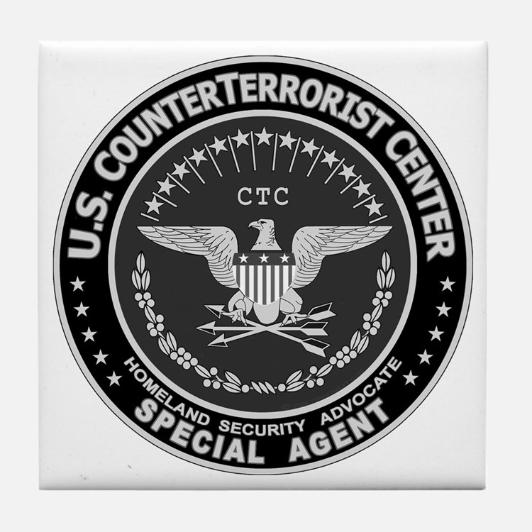 CTC CounterTerrorist Center Tile Coaster