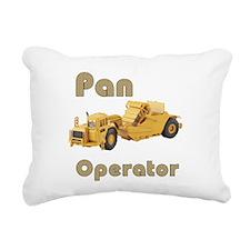 Pan Operators Rectangular Canvas Pillow