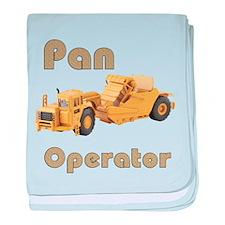 Pan Operators baby blanket