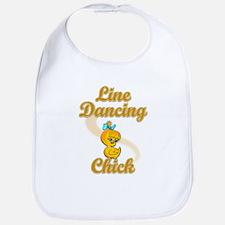 Line Dancing Chick #2 Bib