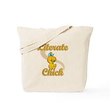 Literate Chick #2 Tote Bag