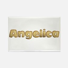 Angelica Toasted Rectangle Magnet