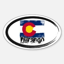 Durango Grunge Flag Decal