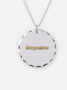 Angelina Toasted Necklace
