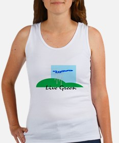 Live Green! Women's Tank Top