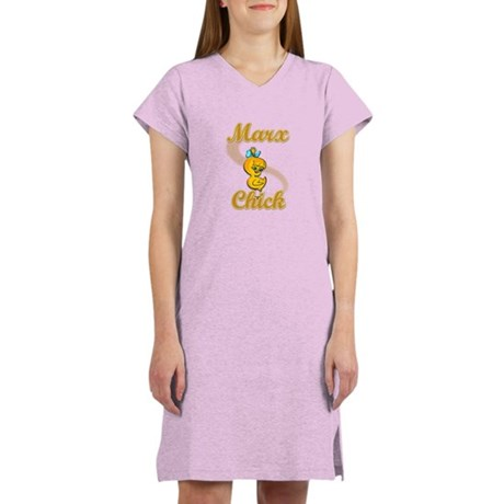 Marx Chick #2 Women's Nightshirt