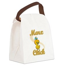 Marx Chick #2 Canvas Lunch Bag